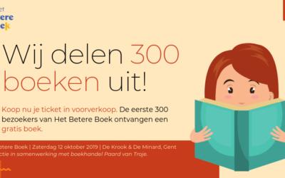Wij delen 300 boeken uit!